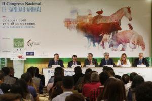 Ponentes de II congreso de sanidad animal